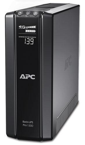 Источник бесперебойного питания APC Back-UPS Pro BR1500GI-W3Y,  1500ВA
