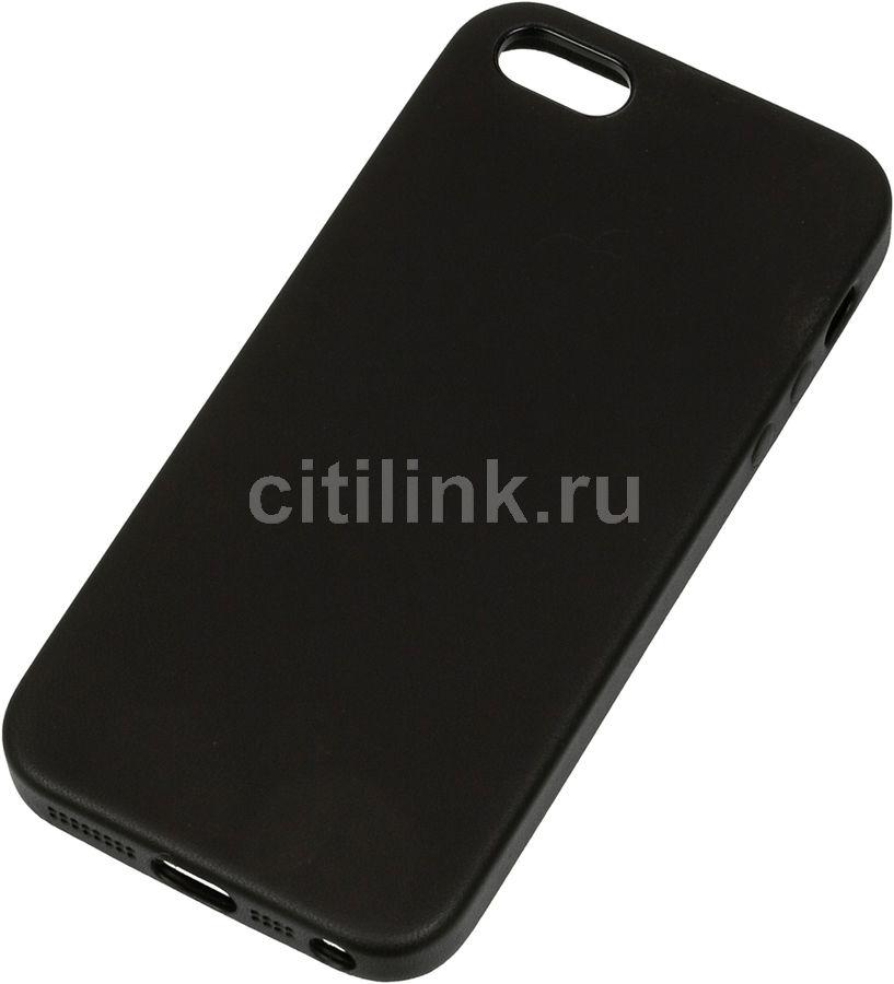 Чехол (клип-кейс) APPLE MMHH2ZM/A, для Apple iPhone 5/5s/SE, черный