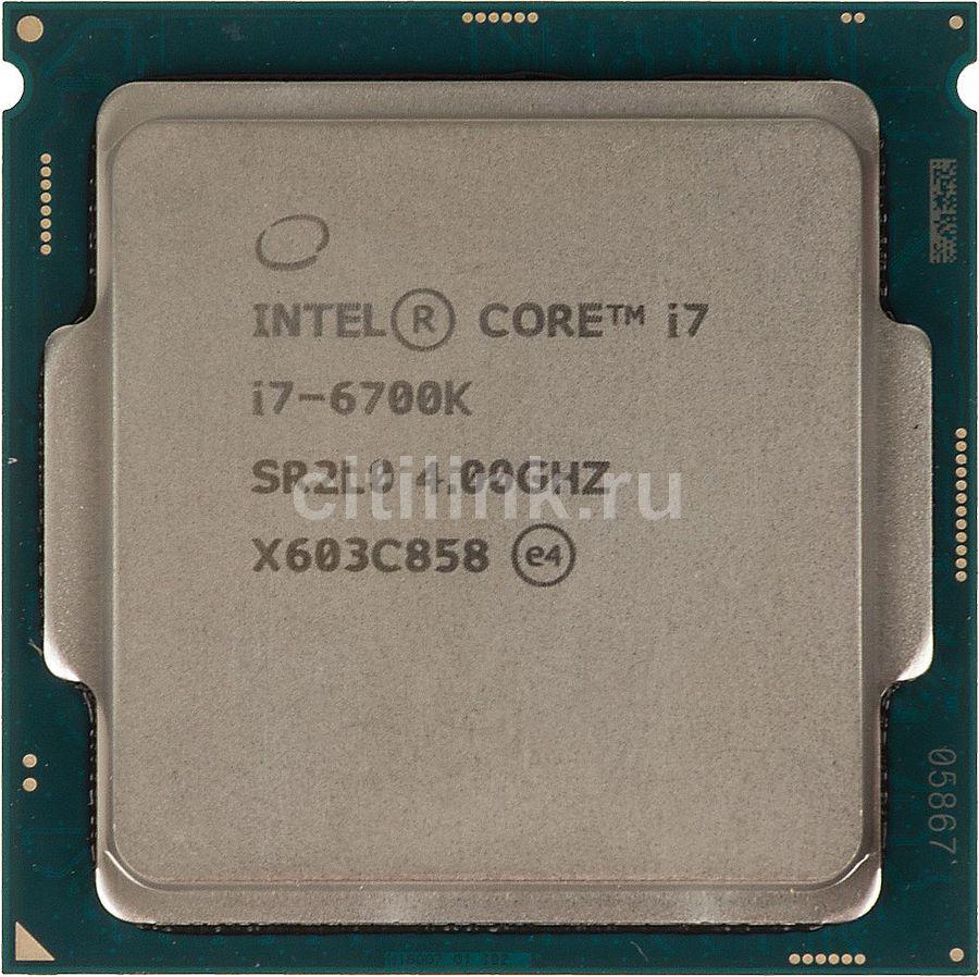 Процессор INTEL Core i7 6700K, LGA 1151 ** OEM [cm8066201919901s r2l0]