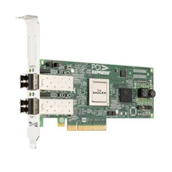 Адаптер Dell Emulex LPe12002 Dual Channel 8Gb PCIe Full profile (406-10691) адаптер dell qlogic 2562 dual port 8gb fibre channel hba pci e x8 full profile kit 406 bbek