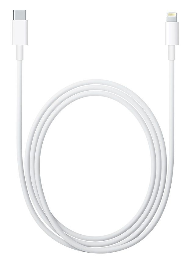Кабель APPLE MKQ42ZM/A,  Lightning (m),  USB Type-C (m),  2м,  белый