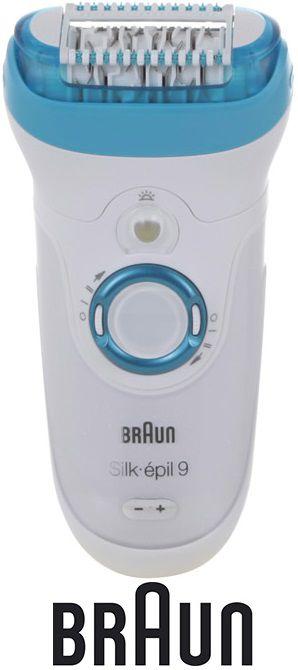 Эпилятор BRAUN 9541 белый