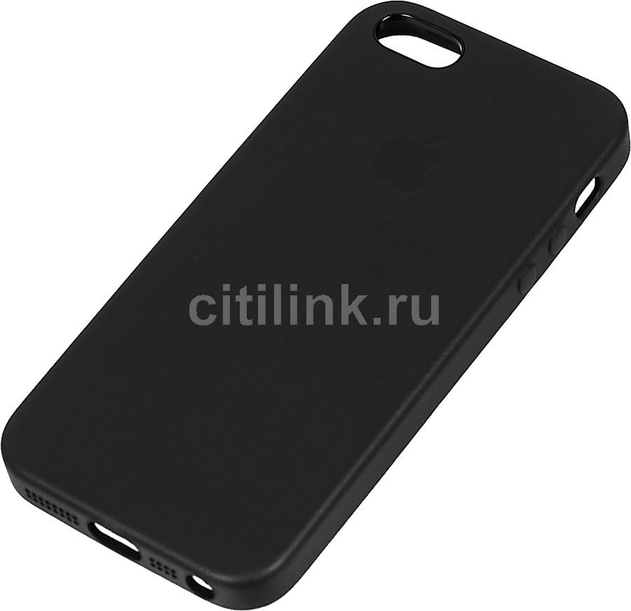 Чехол APPLE MMHH2ZM/A, для Apple iPhone 5/5s/SE, черный