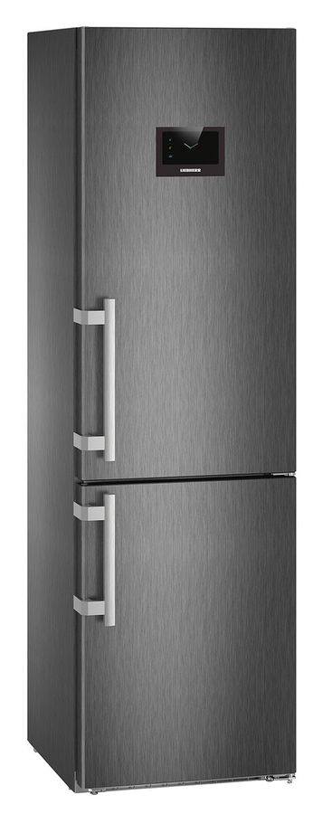 Холодильник LIEBHERR CBNPbs 4858,  двухкамерный,  черный