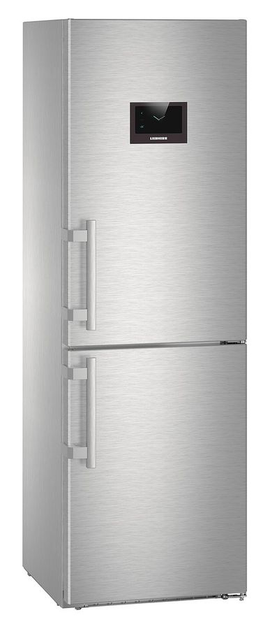 Холодильник LIEBHERR CNPes 4358,  двухкамерный,  нержавеющая сталь