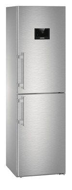 Холодильник LIEBHERR CNPes 4758,  двухкамерный,  нержавеющая сталь