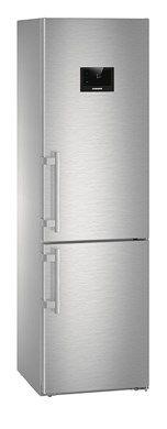 Холодильник LIEBHERR CNPes 4858,  двухкамерный,  нержавеющая сталь