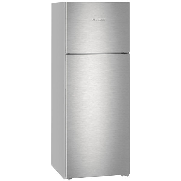 Холодильник LIEBHERR CTNef 5215,  двухкамерный, нержавеющая сталь