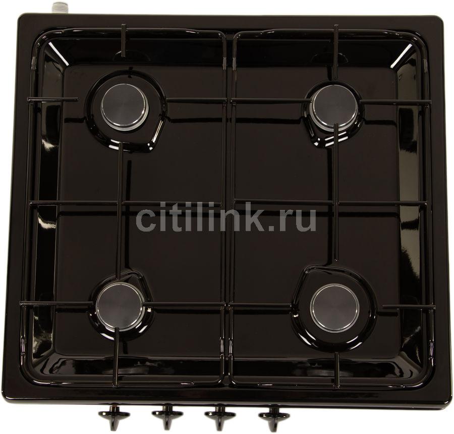 Плита Газовая Darina L NGM 441 03 B черный эмаль (настольная)