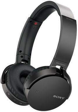 Наушники SONY MDRXB650BTB.E, мониторы,  черный, беспроводные bluetooth