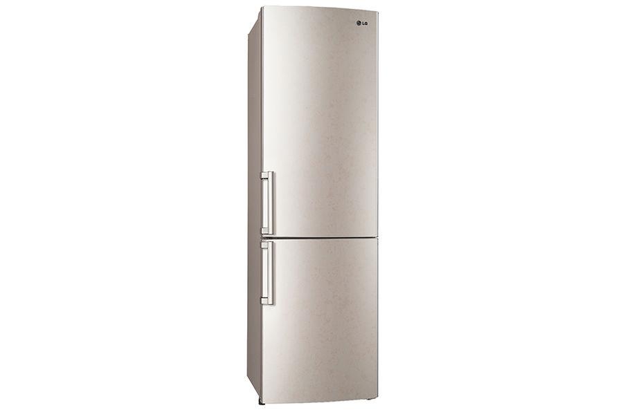 Холодильник LG GA-B489ZECL,  двухкамерный,  бежевый
