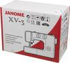 Швейная машина JANOME XV-3 белый вид 11