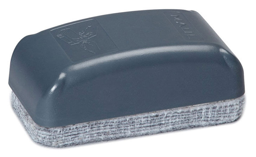 Стиратель для досок Hebel Maul 6385382 фетр маленький серый