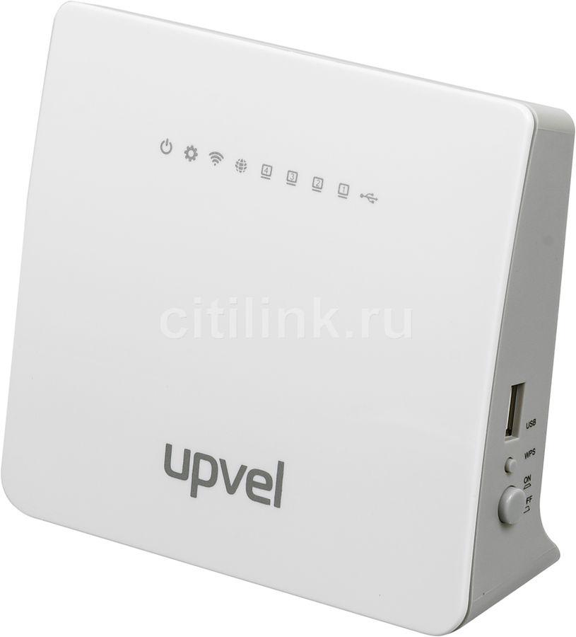 Беспроводной роутер UPVEL UR-329BNU,  белый