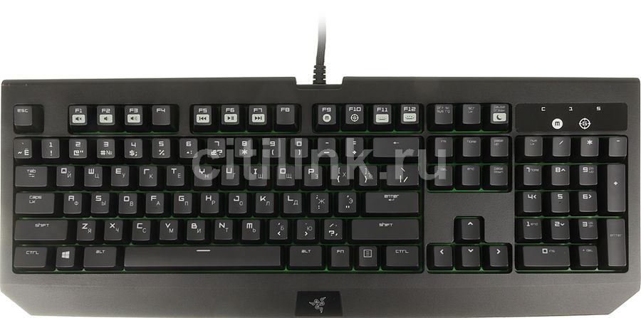 Клавиатура RAZER BlackWidow Ultimate 2016,  USB, черный [rz03-01700700-r3r1]