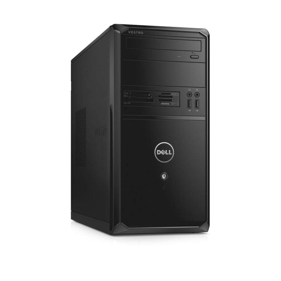 Компьютер  DELL Vostro 3900,  Intel  Core i5  4460,  DDR3 8Гб, 1000Гб,  nVIDIA GeForce GTX 745 - 4096 Мб,  DVD-RW,  CR,  Linux,  черный [3900-4469]