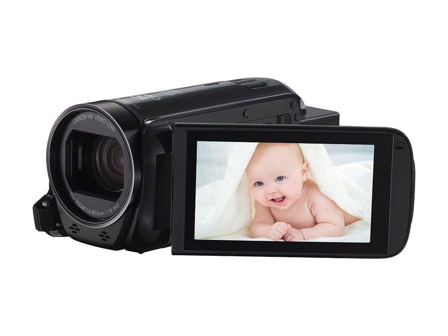 Видеокамера CANON Legria HF R706, черный,  Flash [1238c003]