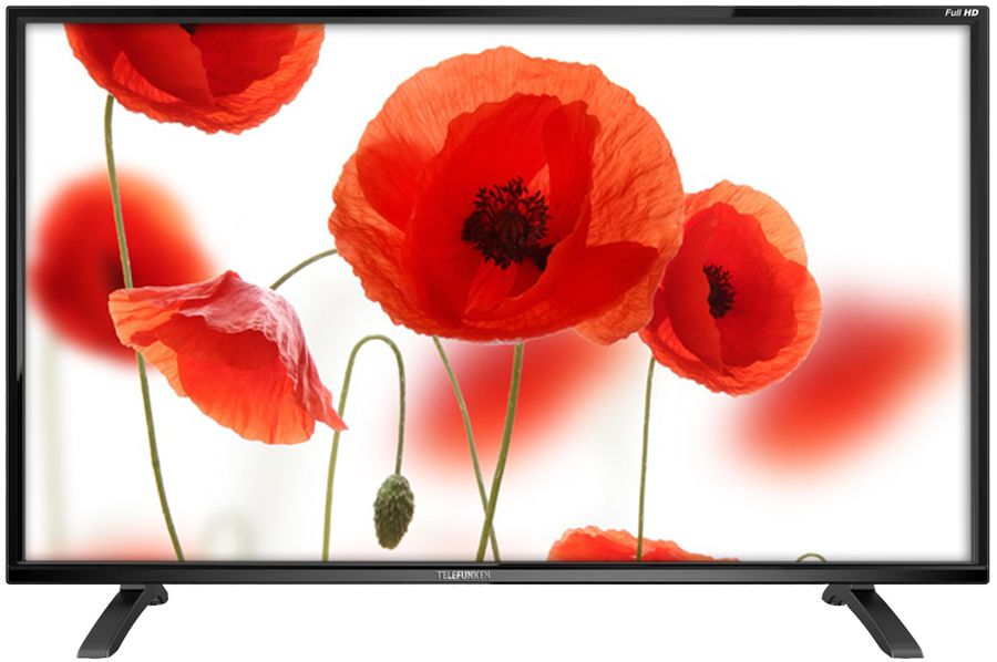 "LED телевизор TELEFUNKEN TF-LED50S13T2  ""R"", 50"", FULL HD (1080p),  черный"