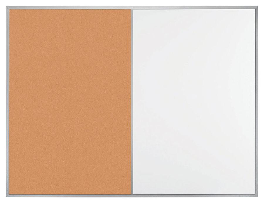Демонстрационная доска Hebel Maul Combiboard Primo 6437484 комбинированная 45x60см алюминиевая рама
