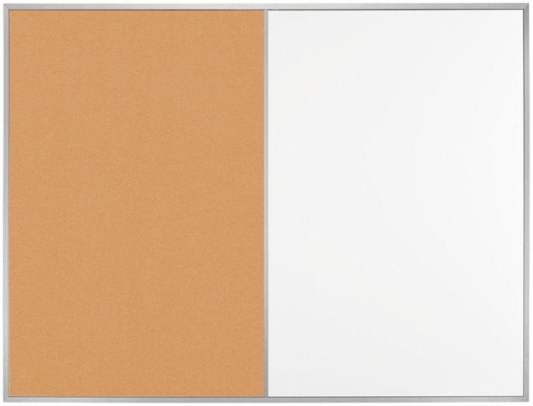Демонстрационная доска Hebel Maul Combiboard Primo 6437684 комбинированная 60х90см алюминиевая рама