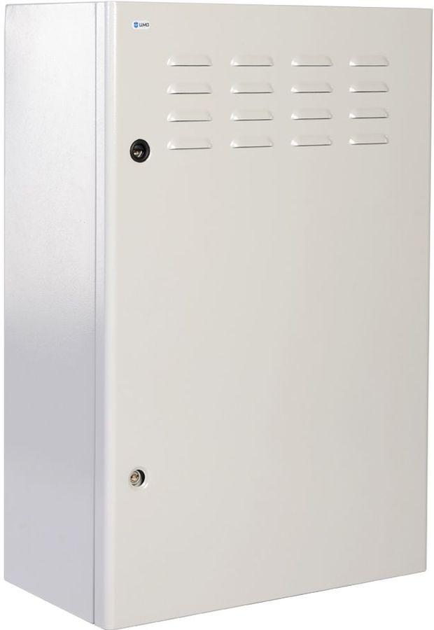 Шкаф коммутационный ЦМО (ШТВ-Н-9.6.3-4ААА) 9U 600x330мм пер.дв.стал.лист несъемн.бок.пан. белый