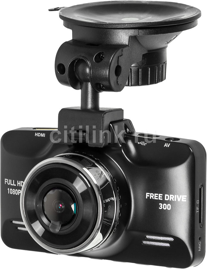 Видеорегистратор DIGMA FreeDrive 300 черный