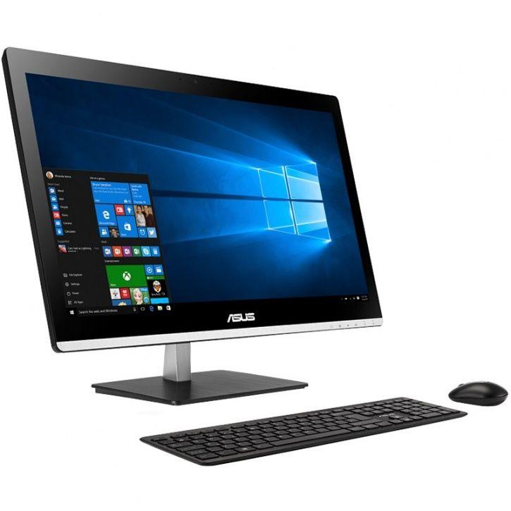 Моноблок ASUS V200IBUK-BC005M, Intel Celeron N3050, 4Гб, 500Гб, Intel HD Graphics, DVD-RW, noOS, черный [90pt01j1-m00510]