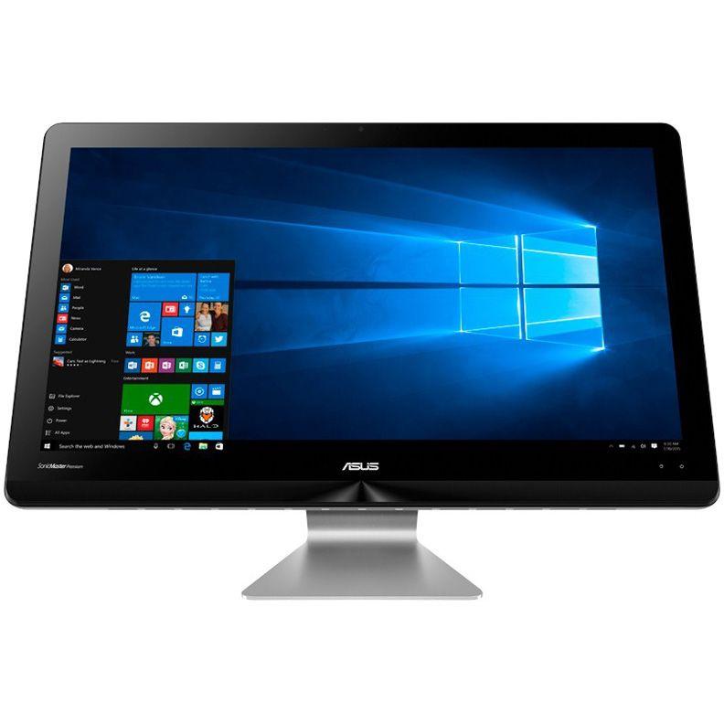 Моноблок ASUS ZN220ICGK-RC016X, Intel Core i5 6200U, 8Гб, 1Тб, nVIDIA GeForce 930MX - 2048 Мб, Windows 10, темно-серый и черный [90pt01n1-m00480]