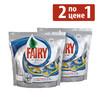 Средство для мытья посуды FAIRY Platinum All-in-1,  2 по цене 1, 20+20 шт, для посудомоечных машин [fr-81575188] вид 1