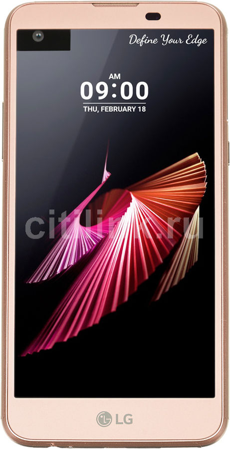 Смартфон LG X view K500DS  розовое золото