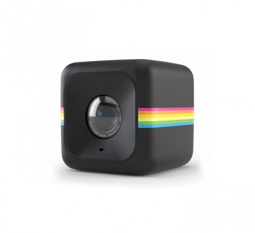 Экшн-камера POLAROID Cube+ 1440p,  WiFi,  черный [polcpbk]