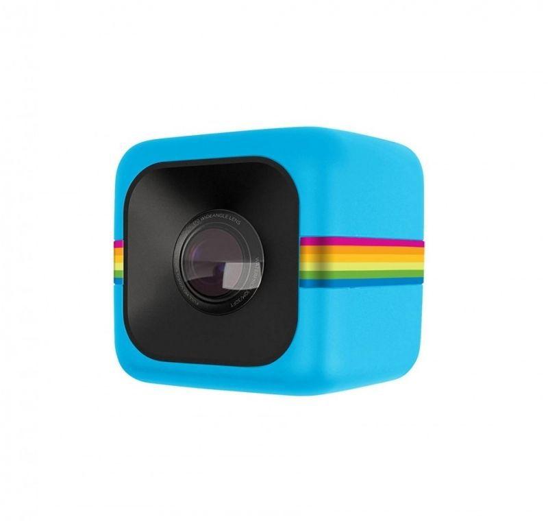 Экшн-камера POLAROID Cube+ 1440p,  WiFi,  синий [polcpbl]