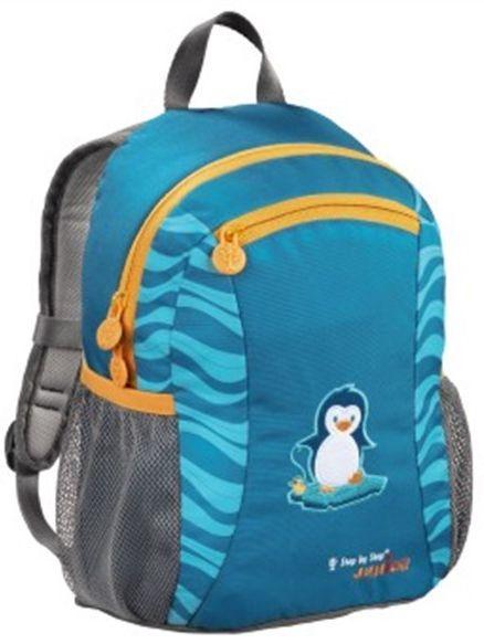 Рюкзак детский Step By Step Junior Talent little penguin голубой/серый пингвин [00138427]