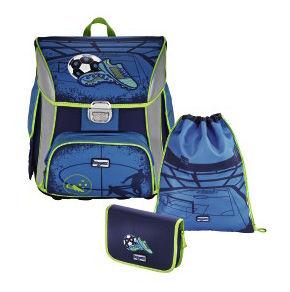 Ранец Step By Step BaggyMax Simy Soccer Blue голубой/синий Футбольный мяч 3 предмета [00138433]