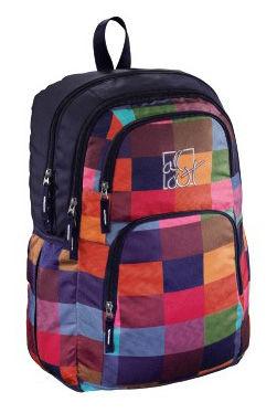 Рюкзак All Out Kilkenny Sunshine Check черный/розовый/голубой/зеленый/синий [00129482]