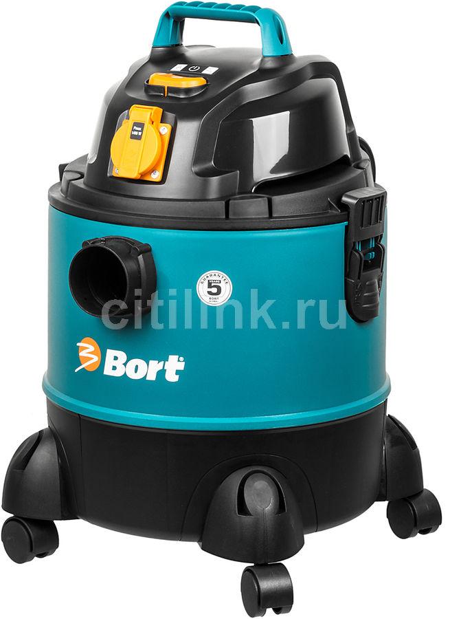Строительный пылесос BORT BSS-1220-Pro синий [98291797]