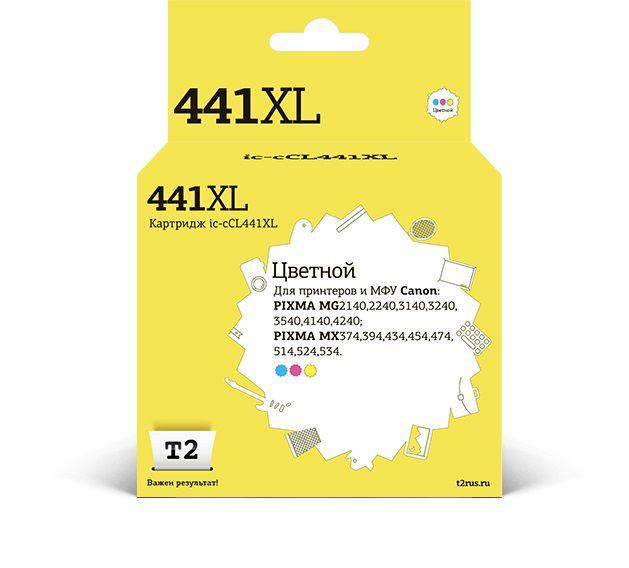 Картридж T2 IC-CCL441XL многоцветный [cl-441 xl]