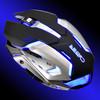 Мышь OKLICK 855G CYBER, игровая, оптическая, проводная, USB, черный и серебристый [gm-08m] вид 15