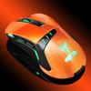 Мышь OKLICK 865G оптическая проводная USB, черный и оранжевый [gm-26 orange] вид 8