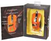 Мышь OKLICK 865G оптическая проводная USB, черный и оранжевый [gm-26 orange] вид 14
