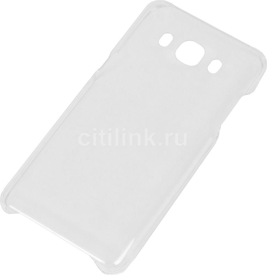 Чехол (клип-кейс) SAMSUNG Slim Cover, для Samsung Galaxy J5 (2016), прозрачный [ef-aj510ctegru]