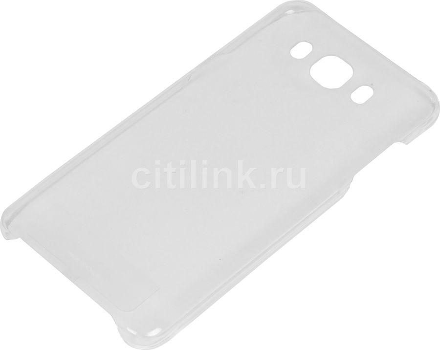 Чехол (клип-кейс) SAMSUNG Slim Cover, для Samsung Galaxy J7 (2016), прозрачный [ef-aj710ctegru]