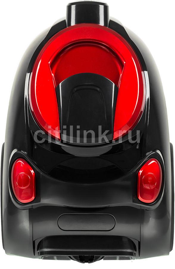 Пылесос SINBO SVC 3476Z, 1800Вт, красный/черный