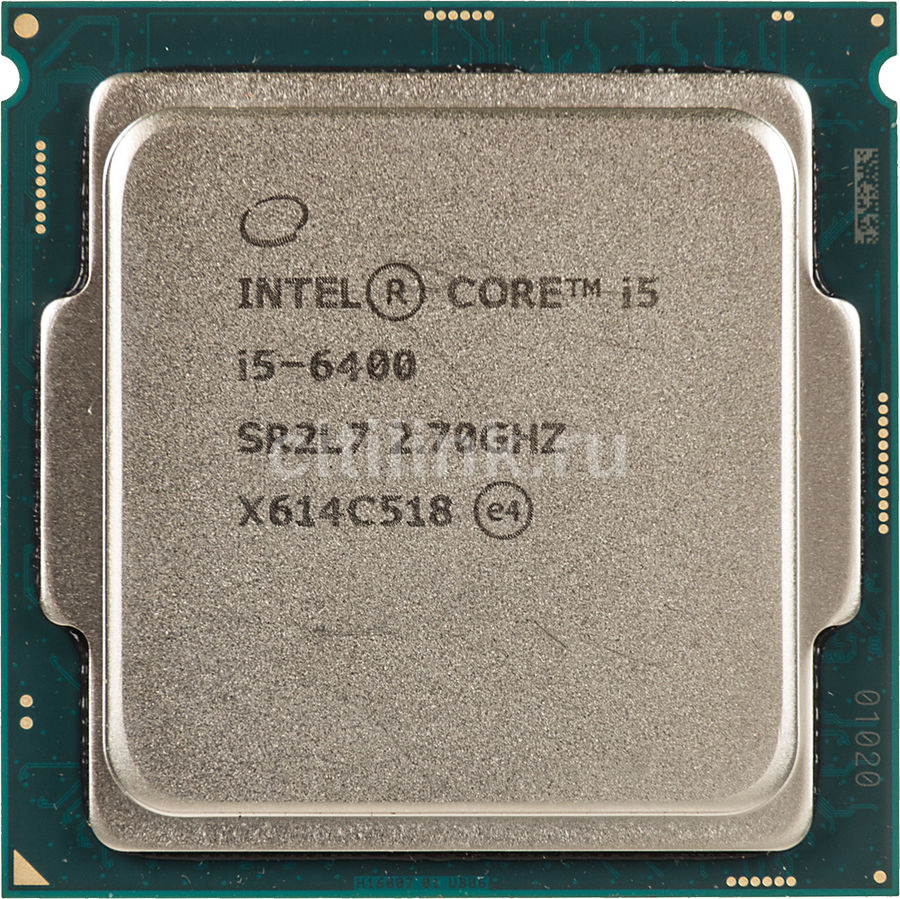 Процессор INTEL Core i5 6400, LGA 1151,  OEM