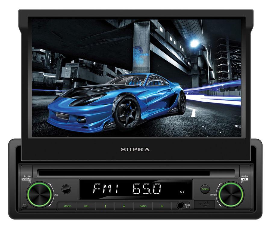 Автомагнитола SUPRA SWM-772,  USB,  SD/MMC