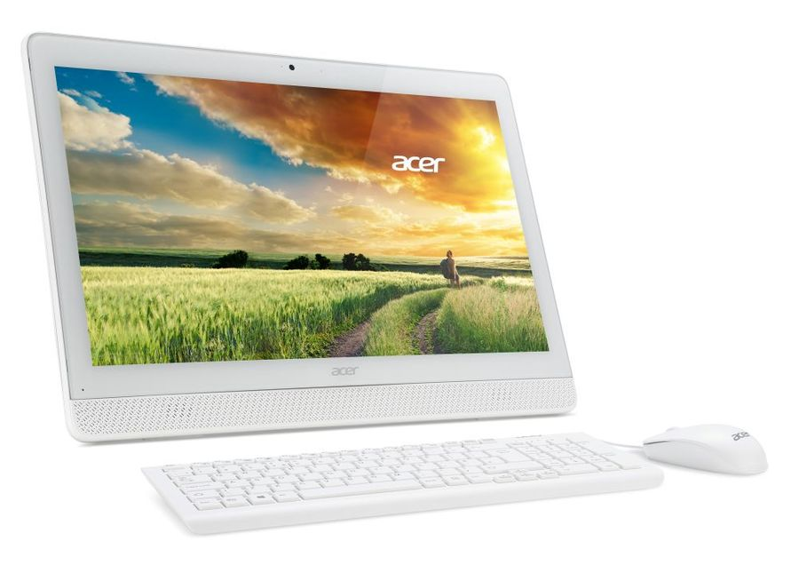 Моноблок ACER Aspire Z1-612, Intel Pentium N3700, 4Гб, 1Тб, Intel HD Graphics, DVD-RW, Windows 10 Home, белый [dq.b2qer.010]