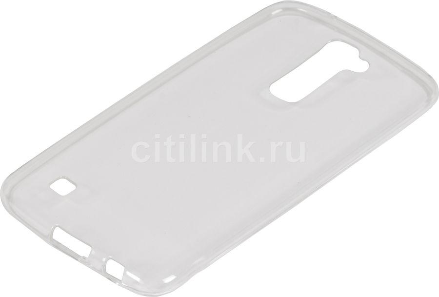 Чехол REDLINE iBox Crystal, для LG K10, прозрачный [ут000008734]