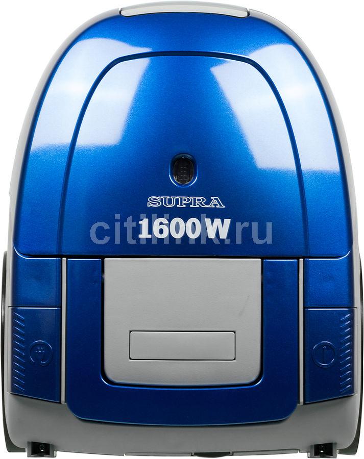 Пылесос SUPRA VCS-1603, 1600Вт, синий