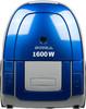 Пылесос SUPRA VCS-1603, 1600Вт, синий вид 1