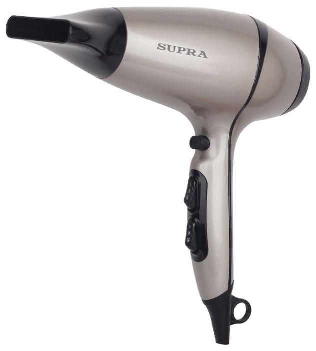 Фен SUPRA PHS-2007, 2200Вт, бежевый